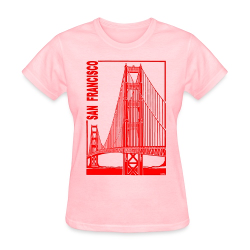 San Francisco-Golden Gate Bridge - Women's T-Shirt