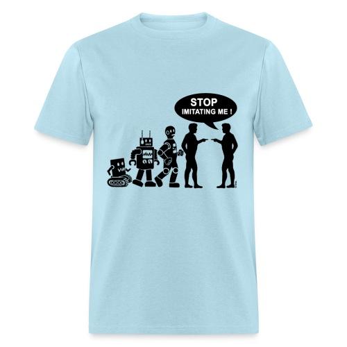 Robot evolution - Men's T-Shirt