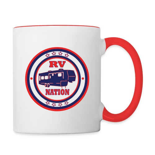 RV Nation - Contrast Coffee Mug
