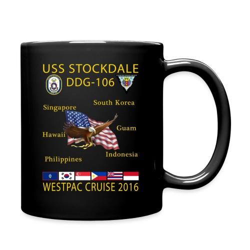 USS STOCKDALE (DDG-106) 2016 WESTPAC CRUISE MUG - Full Color Mug