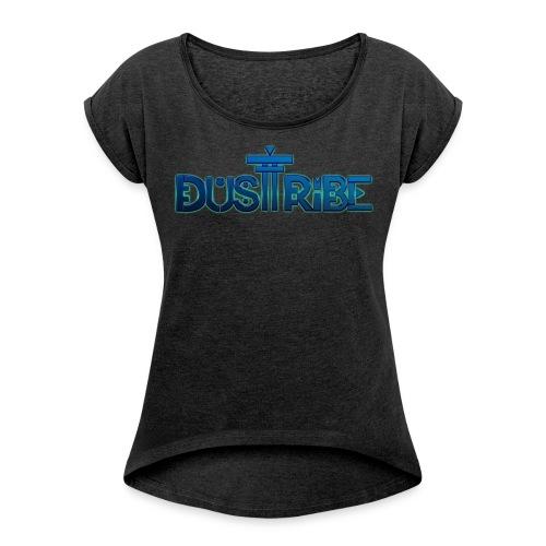 Women's Scoop Neck DustTribe Tee - Women's Roll Cuff T-Shirt