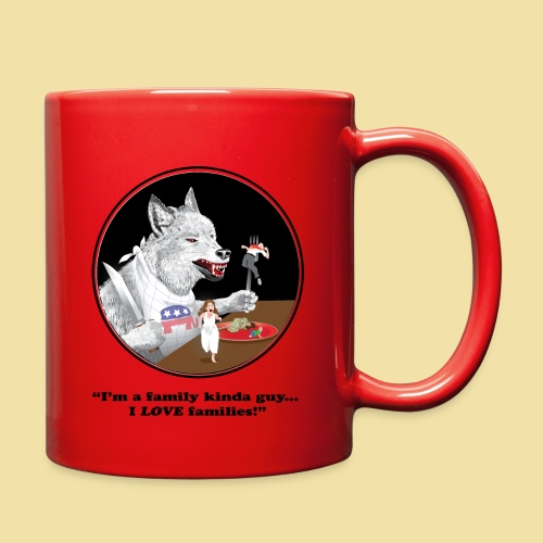 GOP Loves Families-Coffee Mug - Full Color Mug