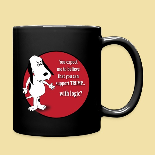 Anti-Trump Dog- Coffee Mug - Full Color Mug