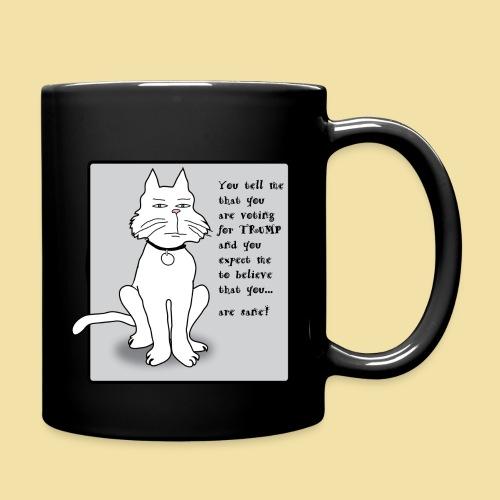 No-Trump Kitty - Coffee Mug - Full Color Mug