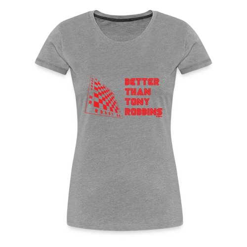 say it with your chess - Women's Premium T-Shirt