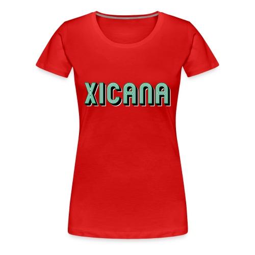 Xicana v2.0 - Women's Premium T-Shirt