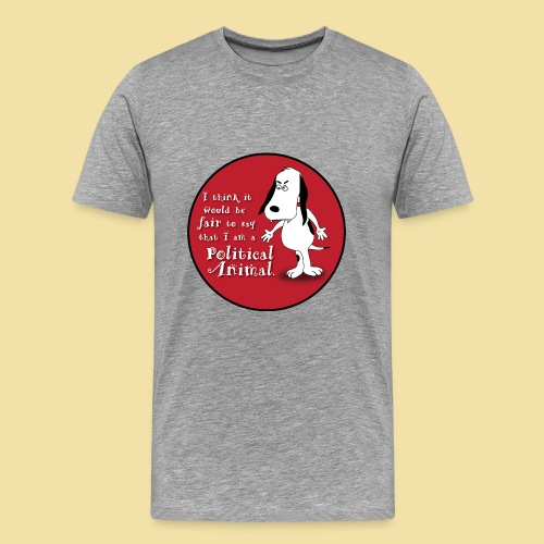 Political Animal- Men's T-Shirt - Men's Premium T-Shirt