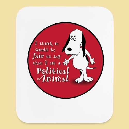 Political Animal Mouse Pad - Mouse pad Vertical