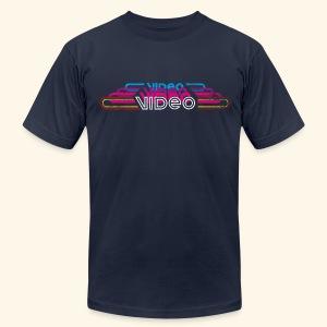 VintageVideo - Men's Fine Jersey T-Shirt