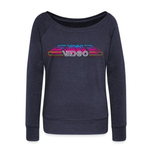 VintageVideo - Women's Wideneck Sweatshirt
