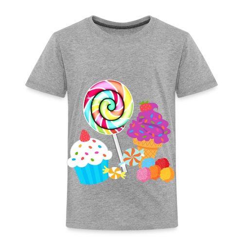 Candy Tee - Toddler Premium T-Shirt