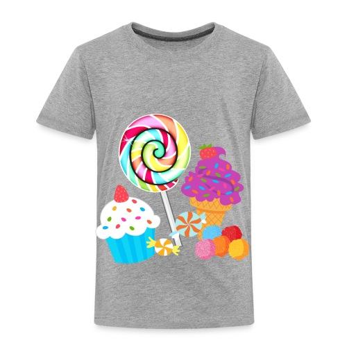 Candy Tee - Toddler Premium T-Shirt