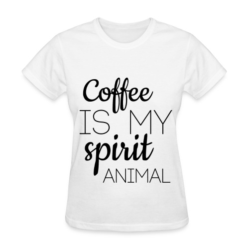 Coffee Spirit Animal Women's T-Shirt - Women's T-Shirt