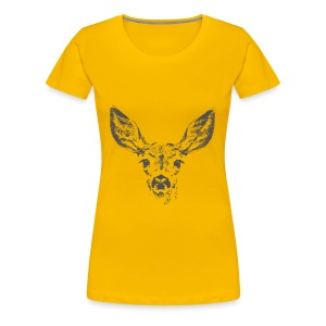 Fawn deer - Women's Premium T-Shirt