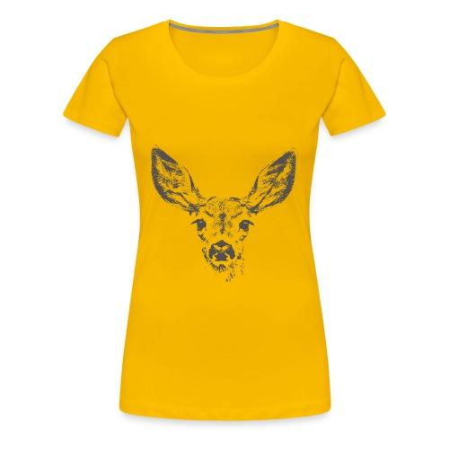 Fawn deer - Women's Premium T-Shirt