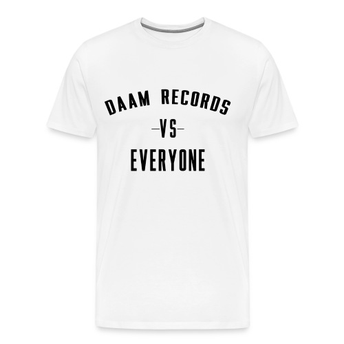 DAAM Records Vs Everyone T-shirt - Men's Premium T-Shirt