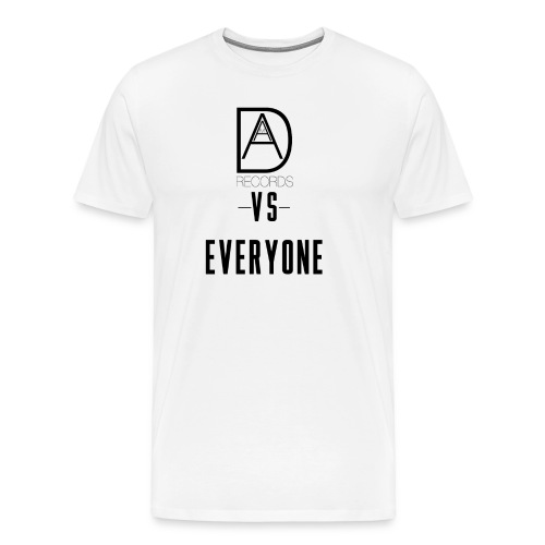 DAAM Records Vs Everyone (Logo Style) T-shirt - Men's Premium T-Shirt