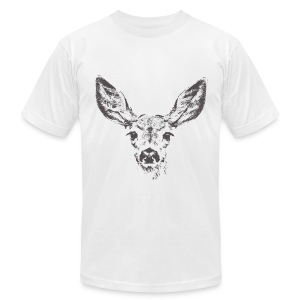 Fawn deer - Men's T-Shirt by American Apparel