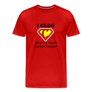 Super Clogger - Men's Premium T-Shirt