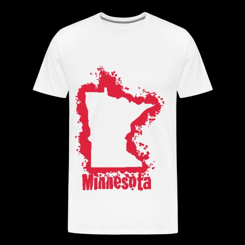 Cherry Red MN T-Shirt - Men's Premium T-Shirt