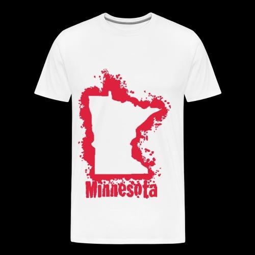 Cherry Red MN T-Shirt - Men's Premium T-Shirt