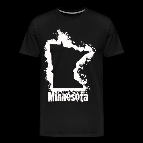 SnowyWhite Classic MN Print - Men's Premium T-Shirt