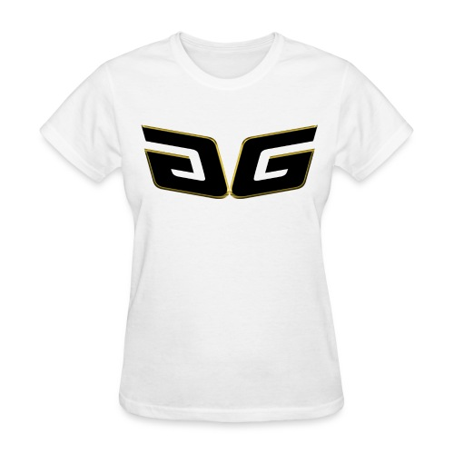 Women's Premium GG T-Shirt Orig. Black Logo - Women's T-Shirt