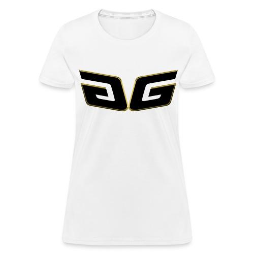 Women's Premium GG T-Shirt Orig. Black Logo - Women's T-Shirt