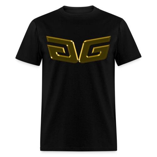 Men's 24K Premium GG T-Shirt Orig. Gold Logo - Men's T-Shirt