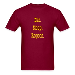 Eat. Sleep. Repeat. Men's T-Shirt - Men's T-Shirt
