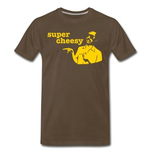 Brown Super Cheesy - Men's Premium T-Shirt