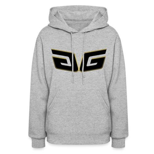 Women's Premium GG Hoodie Orig. Black Logo - Women's Hoodie