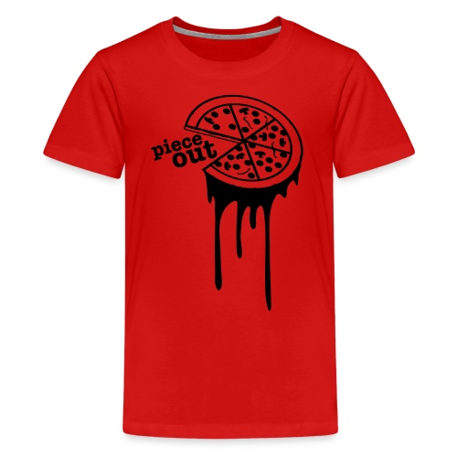 Piece Out, Kids (Red) - Kids' Premium T-Shirt