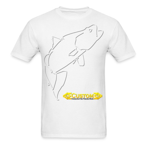 ACM Custom Rods Big Barra Logo Tee - Men's T-Shirt