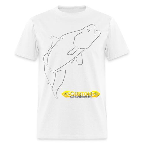 ACM Custom Rods Big Barra Logo Tee - Men's T-Shirt