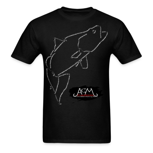 ACM Custom Rods Big Barra/Hook Logo Tee - Men's T-Shirt