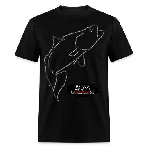 ACM Custom Rods Big Barra/Hook Logo Tee - Men's T-Shirt