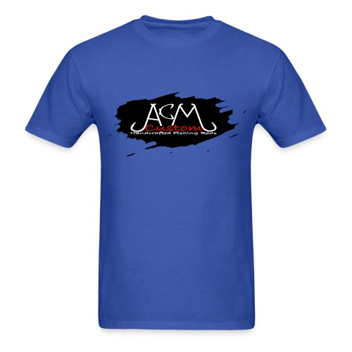 ACM Custom Rods Hook Splash Logo Tee - Men's T-Shirt