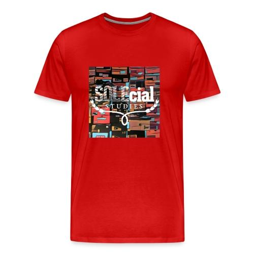 SOLEcial Studies Box Camo - Men's Premium T-Shirt