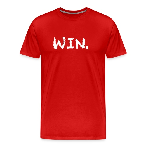 Red Win Period T-Shirt - Men's Premium T-Shirt