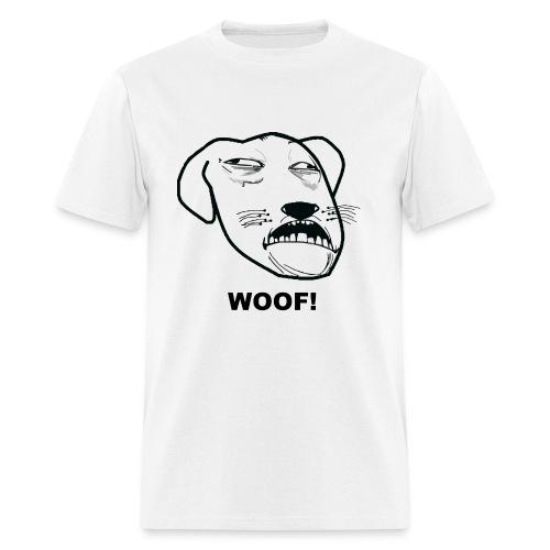 Woof! - Men's T-Shirt