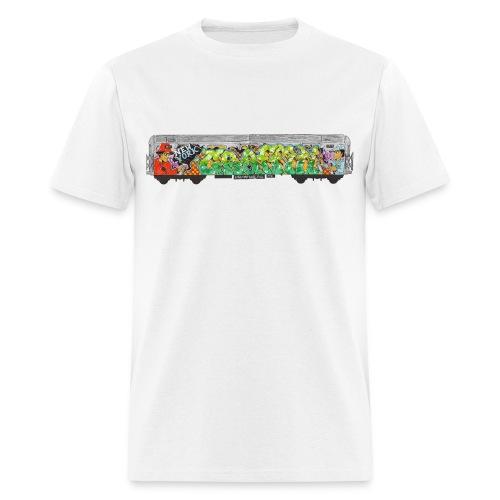 One - Design for New York Graffiti Color Logo - Men's T-Shirt
