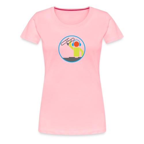 Trombone DJ Logo - Women's Premium T-Shirt