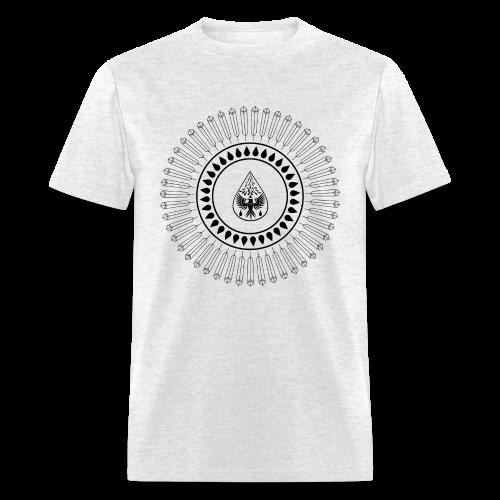 Men's 'Rain Circle' T-Shirt - Men's T-Shirt