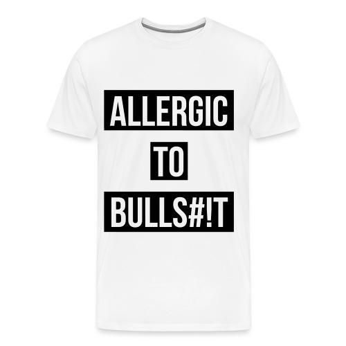 Allergic to bullshit Free fit  - Men's Premium T-Shirt