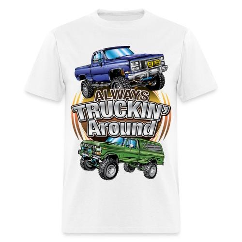 trucking - Men's T-Shirt