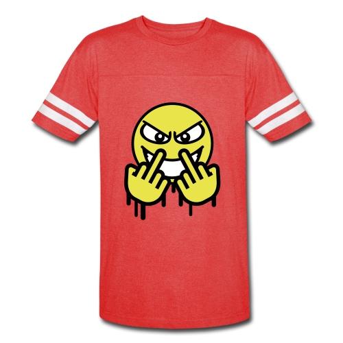 Fuck cancer  - Vintage Sport T-Shirt