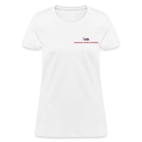 AYIP Women's Short Sleeved Shirt *Logo Small* - Women's T-Shirt
