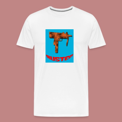 RUSTED UZI Tee - Men's Premium T-Shirt