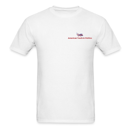 AYIP Men's Short Sleeved Shirt *Logo Small* - Men's T-Shirt